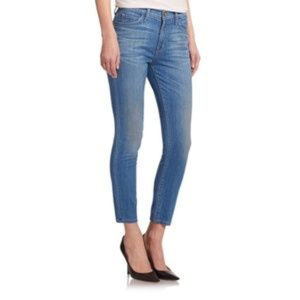 Current Elliott High Waist Stiletto Jeans